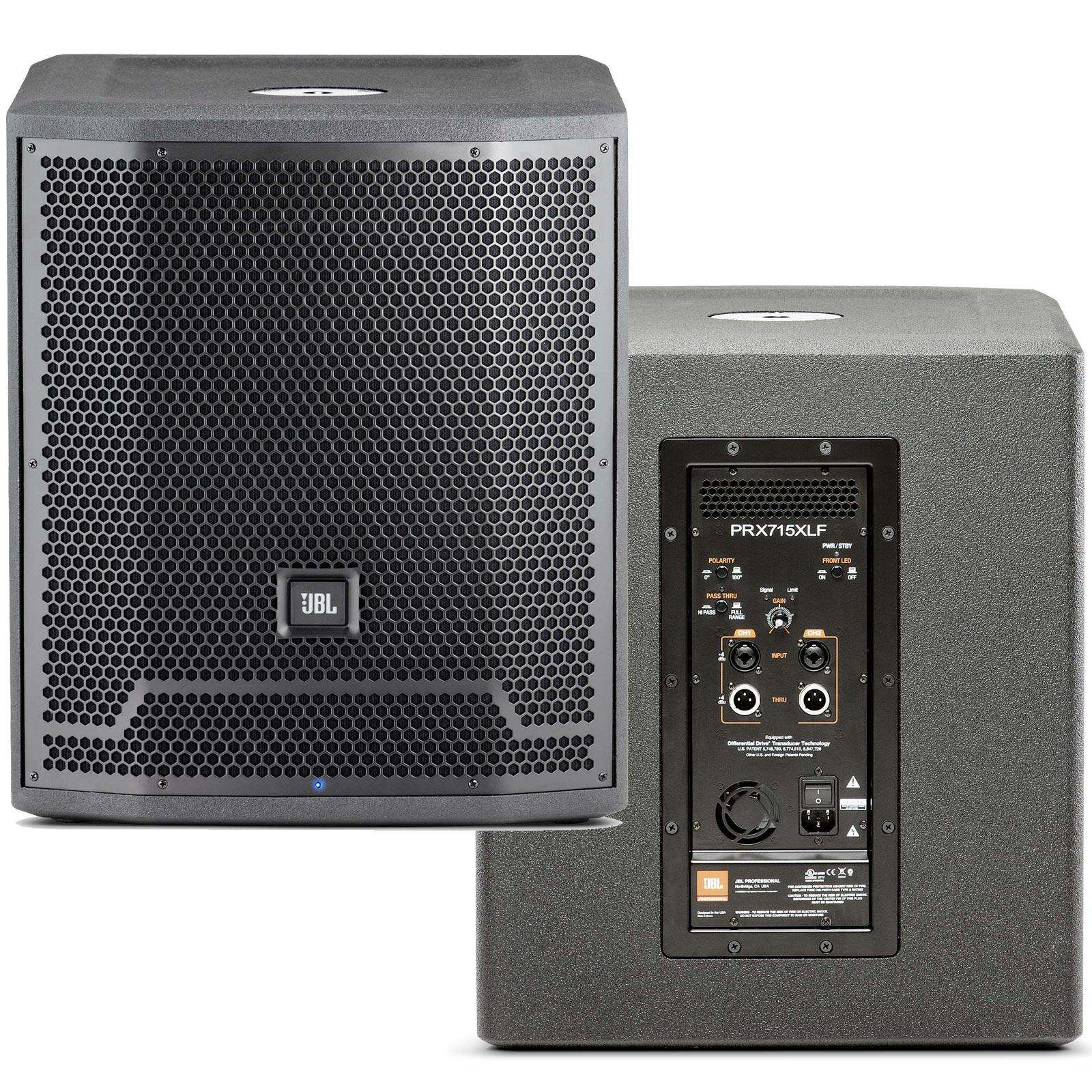 product jbl prx xlf powered subwoofer hire